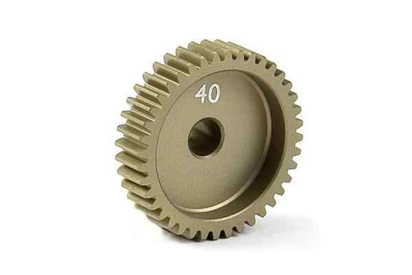 Narrow Pinion Gear Alu Hard Coated 40T / 64