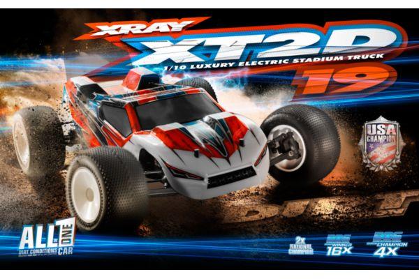 XRAY XT2C 2019 - 2WD 1/10 ELECTRIC STADIUM TRUCK - DIRT EDITION