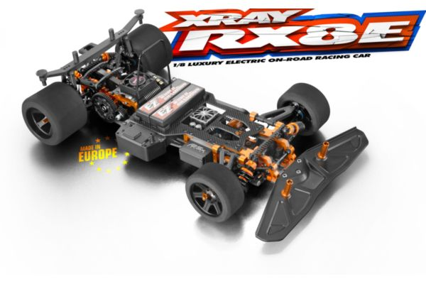 XRAY RX8E 1op8 luxury electric onroad auto
