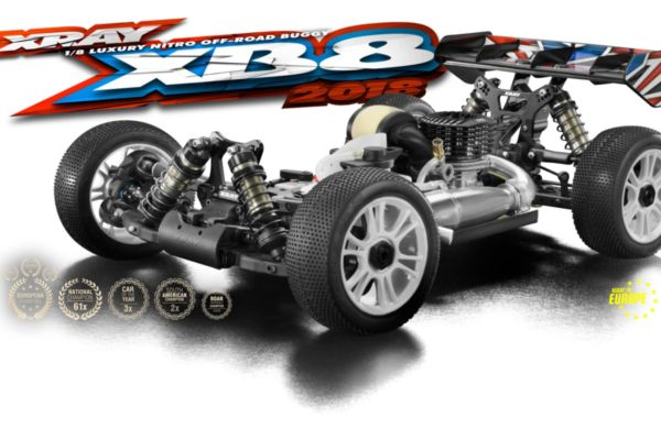 XRAY XB8 - 2018 SPECS - 1/8 LUXURY NITRO OFF-ROAD CAR