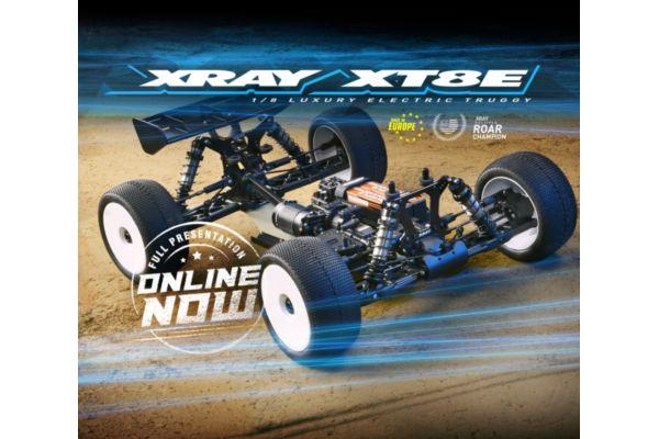 XRAY XT8E - 1/8 LUXURY ELECTRIC RACING TRUGGY