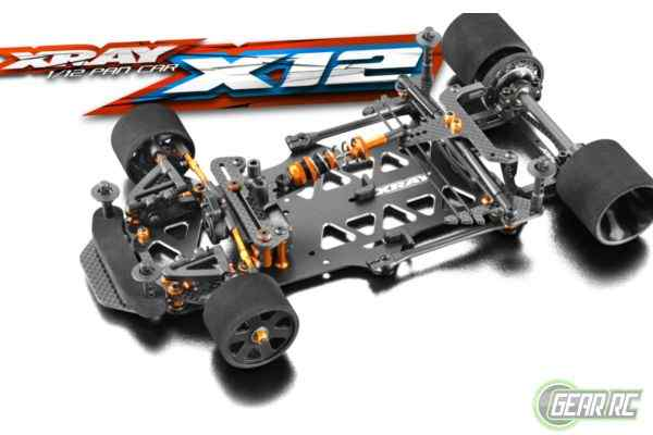 XRAY X12 - 2019 US SPECS - 1/12 PAN CAR
