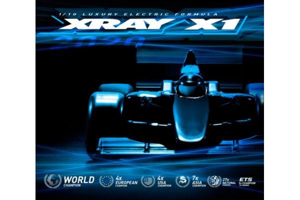 Xray X1 2020  Luxury 1/10 Formula bouwdoos