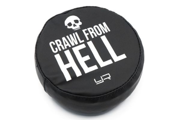 1/10 Tire Cover For 1.9 Crawler Wheels  Crawl From Hell
