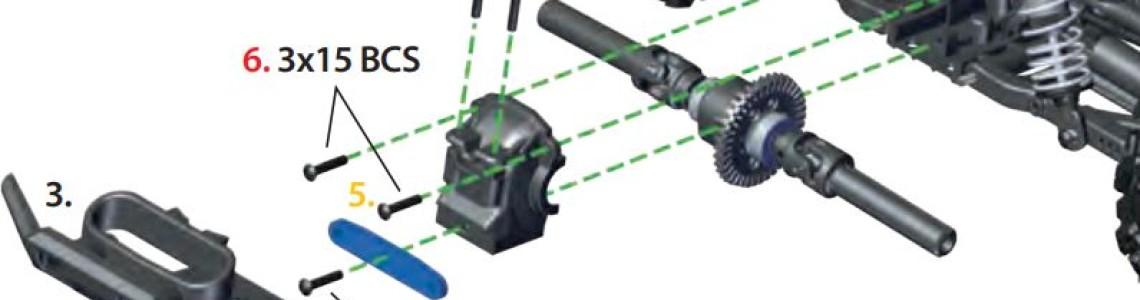 Rustler 4x4 VXL differentieel olie