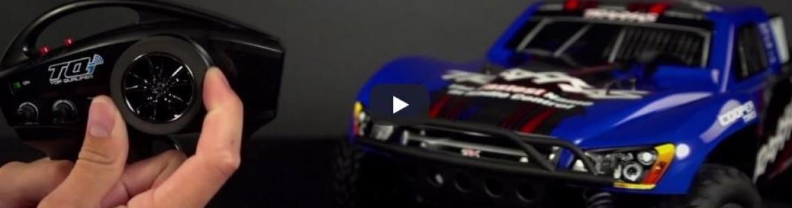 Traxxas transmitter steering reverse