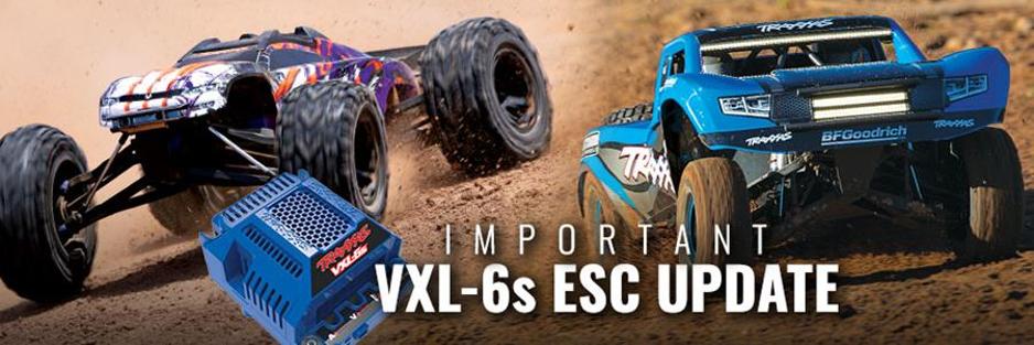 Belangrijke Update for E-Revo and Unlimited Desert Racer eigenaars